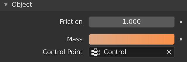 Blender Soft Body Object Mass