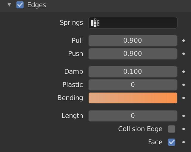 Blender Soft Body Edges Bending