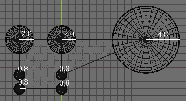 Blender Soft Body Sef Collision Minimal Spheres