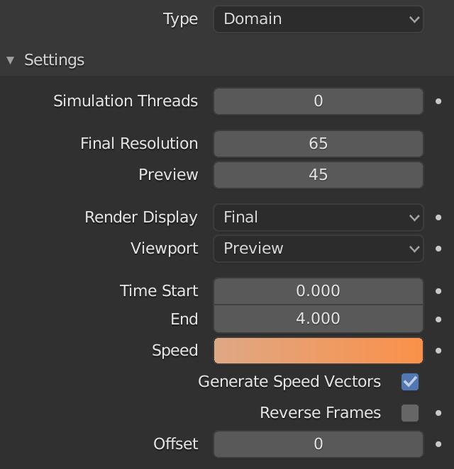 Blender Fluid Domain Speed
