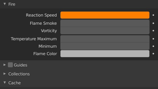 Blender Smoke Reaction Speed