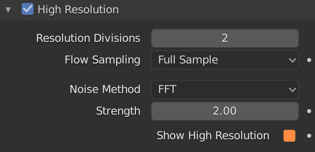 Blender Smoke Show High Resolution