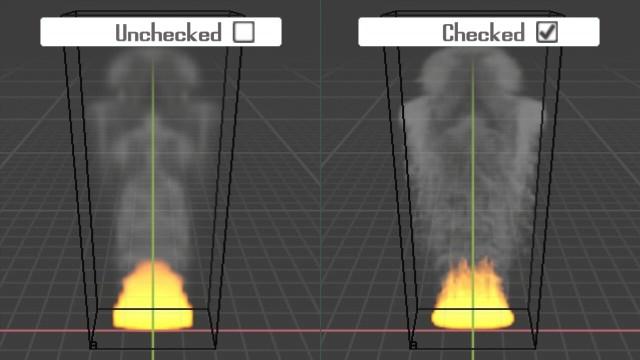 Blender Smoke Show High Resolution Viewport