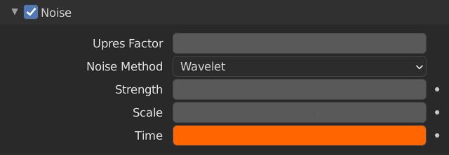 Blender Smoke Noise Time