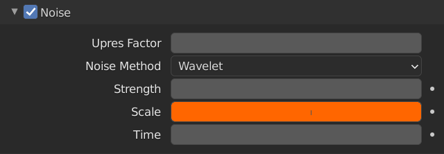 Blender Smoke Noise Scale