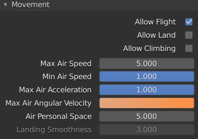 Blender Bois Max Air Angular Velocity