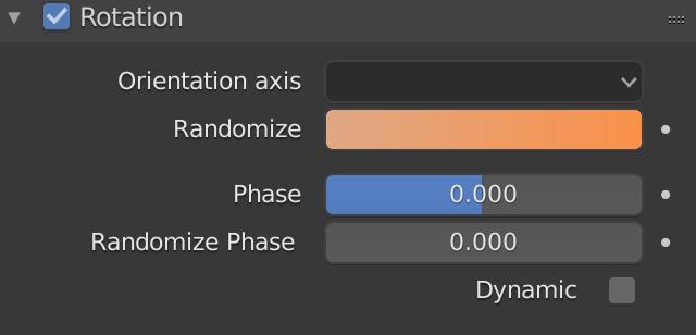 Blender Particle Rotation Randomize