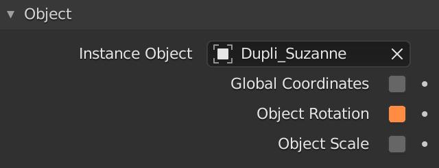 Blender Particles Render Object Rotation